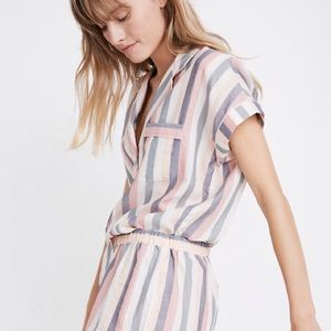 Madewell | Lonnie Striped Pajama Top